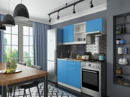Кухня София мини 2 синий