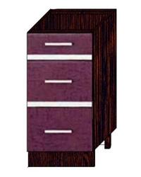 Стол с тремя ящиками без столешницы 08.59.2 400х470х820