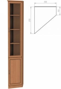 Шкаф для книг 208