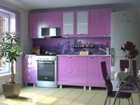 Кухня Мадена Сиреневый глянец
