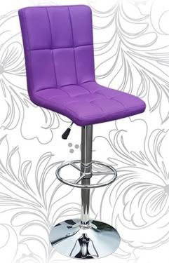 Барный стул KRUGER 5009 фиолет