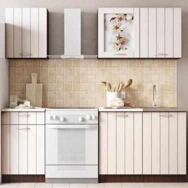 Кухонный гарнитур Легенда 16 (1,5 м) ПВХ