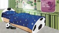 Детская кровать мяч