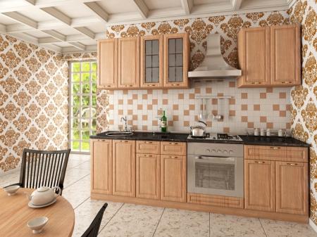 Кухонный гарнитур Кантри Липа
