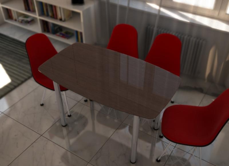 Стол Соло №1 прямоугольный