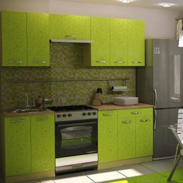 Кухонный гарнитур Дина 2,1 м