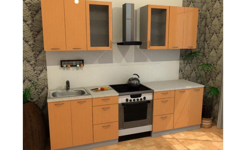 Кухонный гарнитур Оранжевое настроение