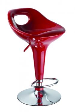 Барный стул 1007 красный