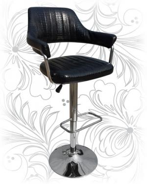 Барный стул 5019 croco черный