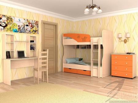 Мебель для детской Юниор 4 Композиция 1