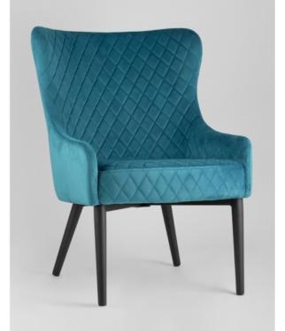 Кресло Ститч, темно-бирюзовый